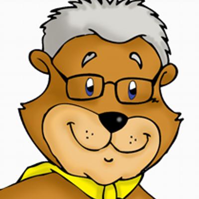 Grandpa clipart bear. Super gsbtweet twitter