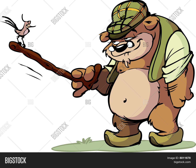 Image cg p c. Bear clipart grandpa