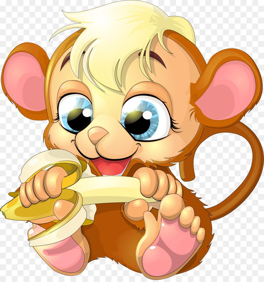 Bear clipart grandpa. Ape cartoon monkey clip