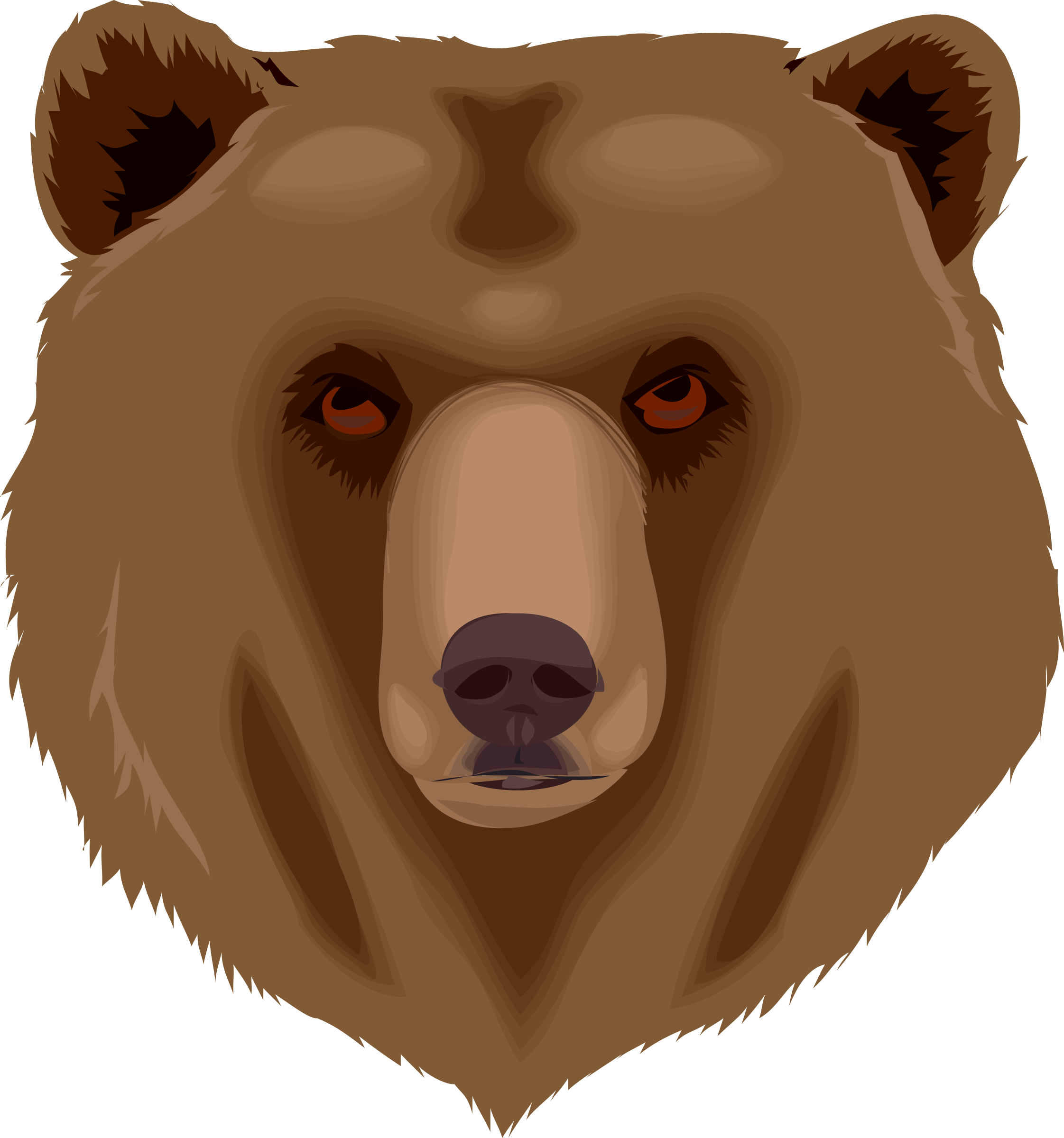 Big clipart grizzly bear. Architetto orso icons png