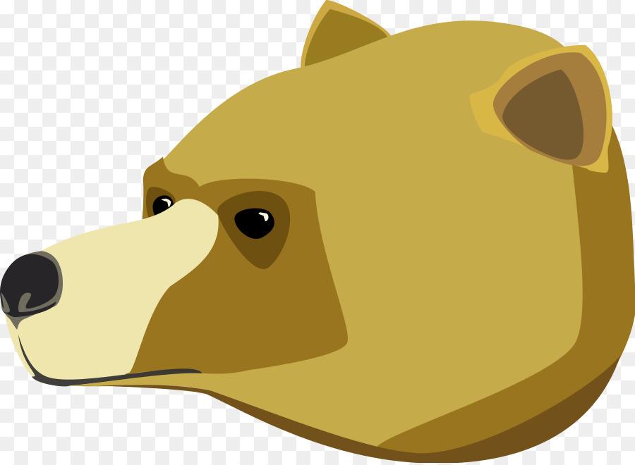 Bear clipart grizzly bear. Brown american black polar