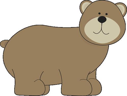 Bear clipart grizzly bear.