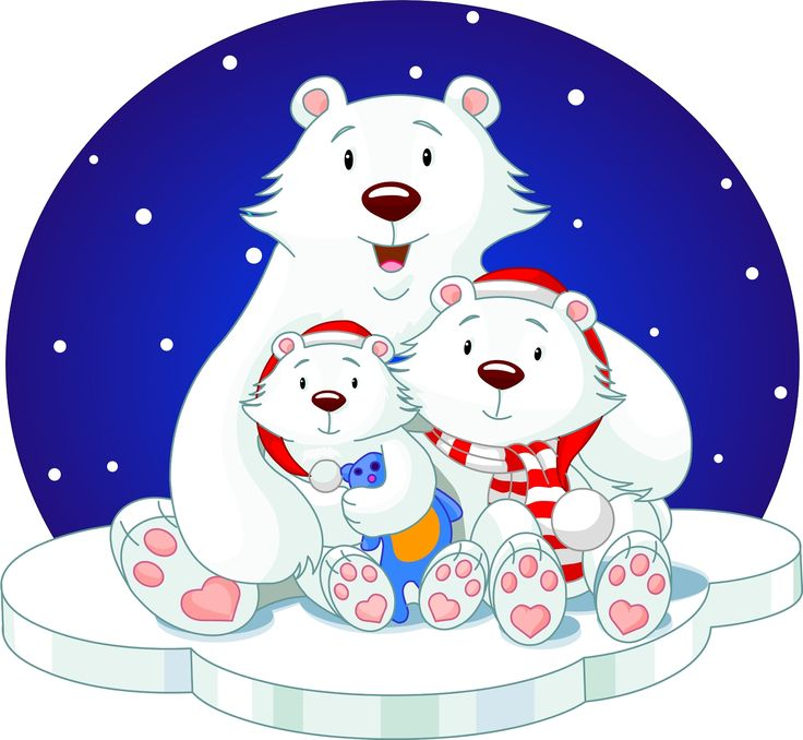 Bear clipart holiday.  best christmas decor
