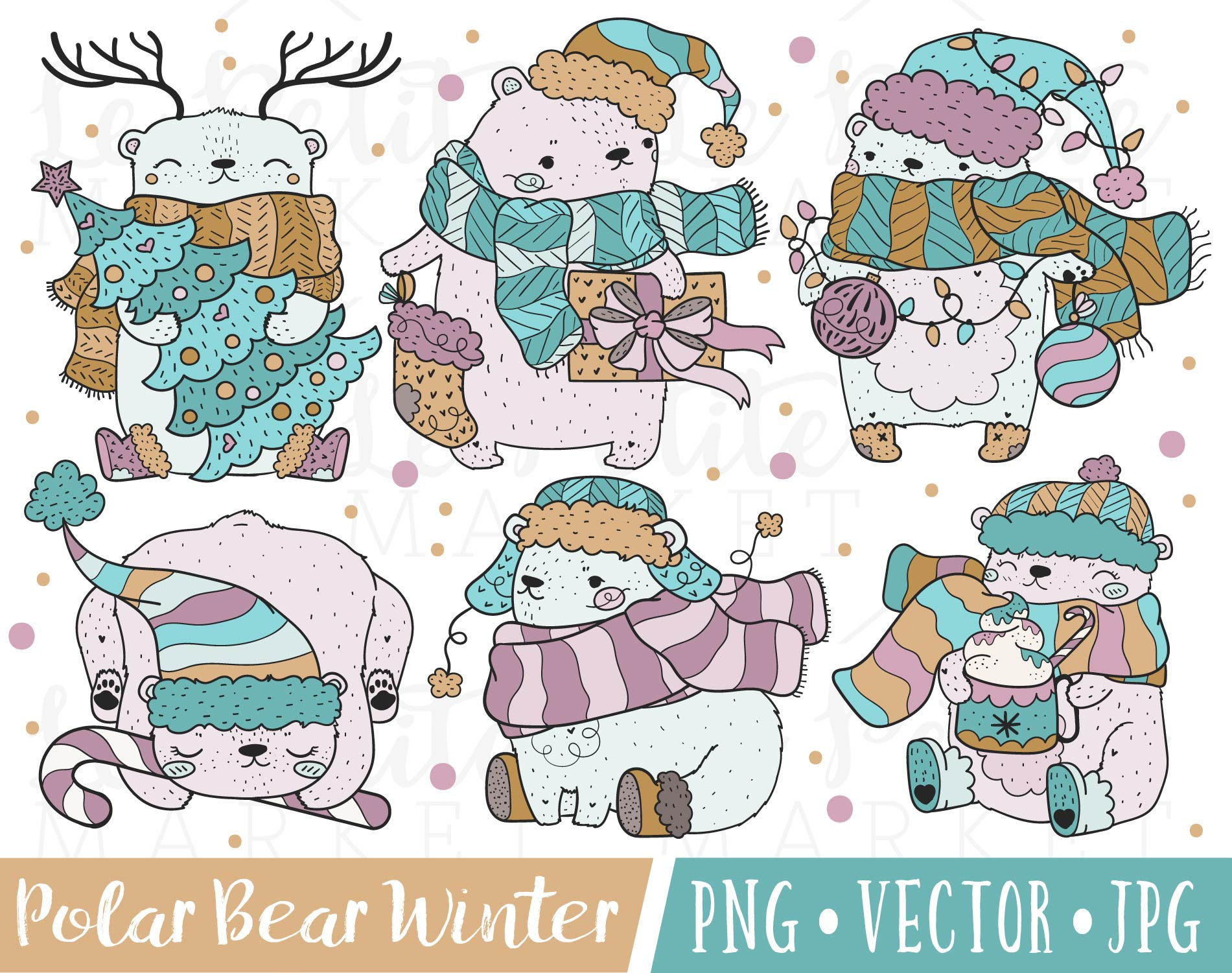 Bear clipart holiday. Images purple christmas graphics