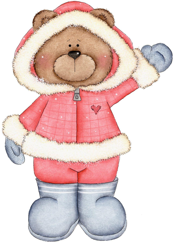 clip art teddy. Bear clipart holiday