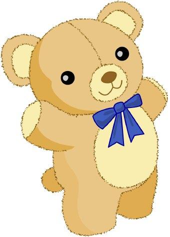 Bear clipart kid. Cute teddy image