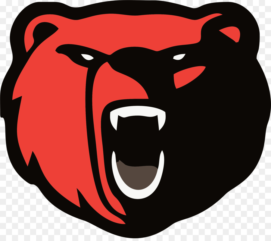 Bears clipart red. Polar bear logo american