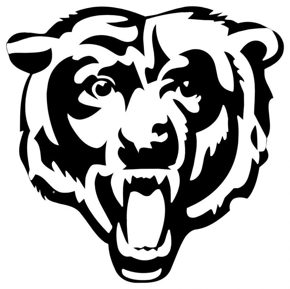 Chicago bears free download. Bear clipart logo