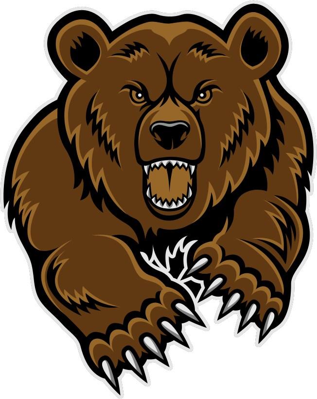 Bear clipart logo. La porte independent school