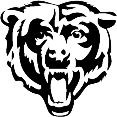 Bear clipart logo. Free chicago bears download