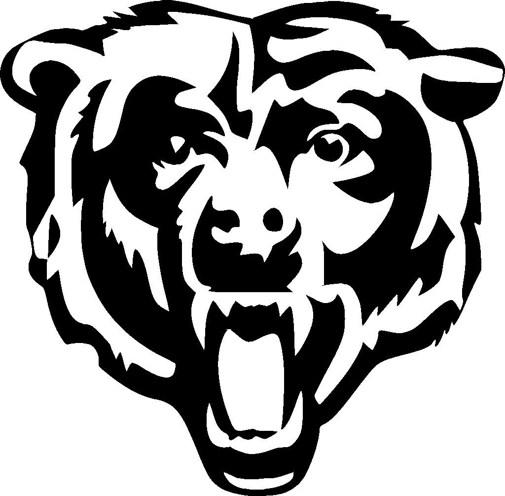 Free chicago bears download. Bear clipart logo