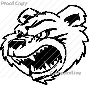Angry unhappy panda free. Bear clipart mad bear