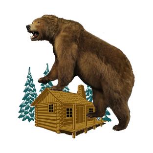 Grizzly t shirts teepublic. Bear clipart mad bear