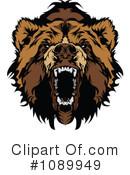 Bear clipart mad bear. Royalty free rf illustrations
