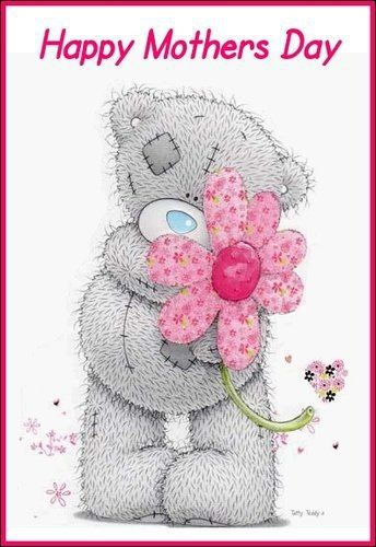 Tatty teddy pinterest bears. Bear clipart mothers day