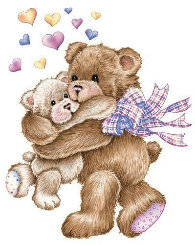 best mother s. Bear clipart mothers day