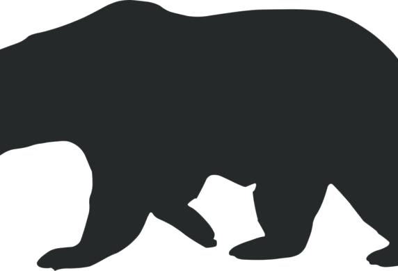 How to draw a. Bear clipart outline