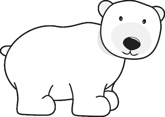 Clip art image. Clipart bear polar bear