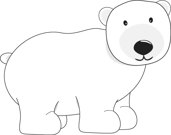 Bears clipart polar bear. Clip art crafts penguins
