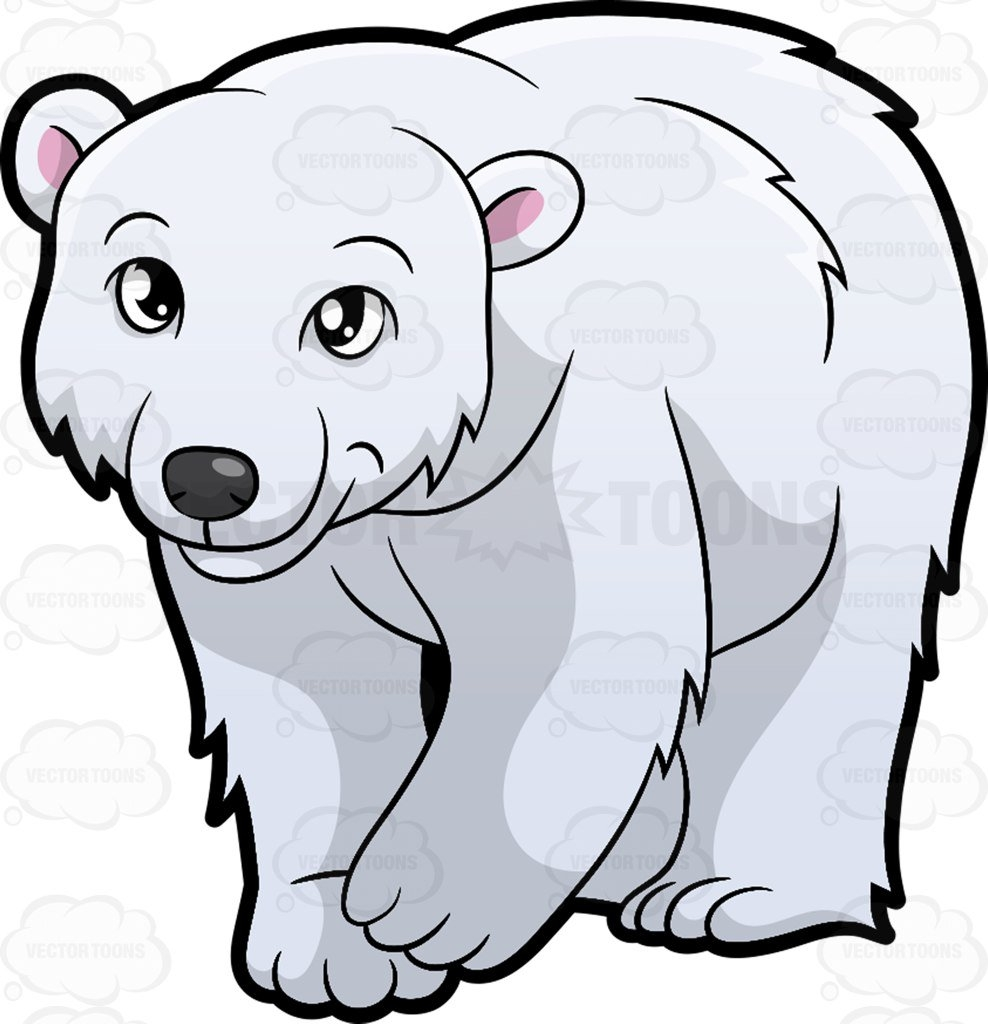 Best of design digital. Bear clipart polar bear