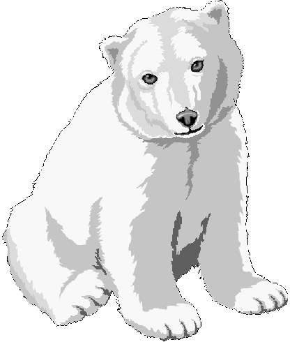 Free images graphics . Bears clipart polar bear