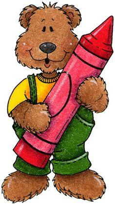 Bear clipart preschool. Free cliparts download clip