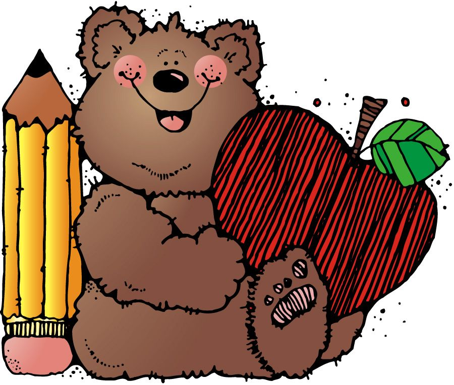 Teddy clip art sticky. Bear clipart preschool