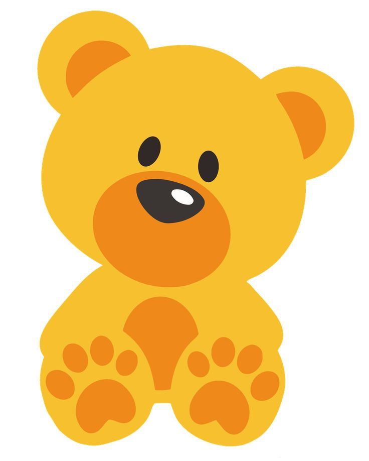 Bear clipart preschool.  best cha de