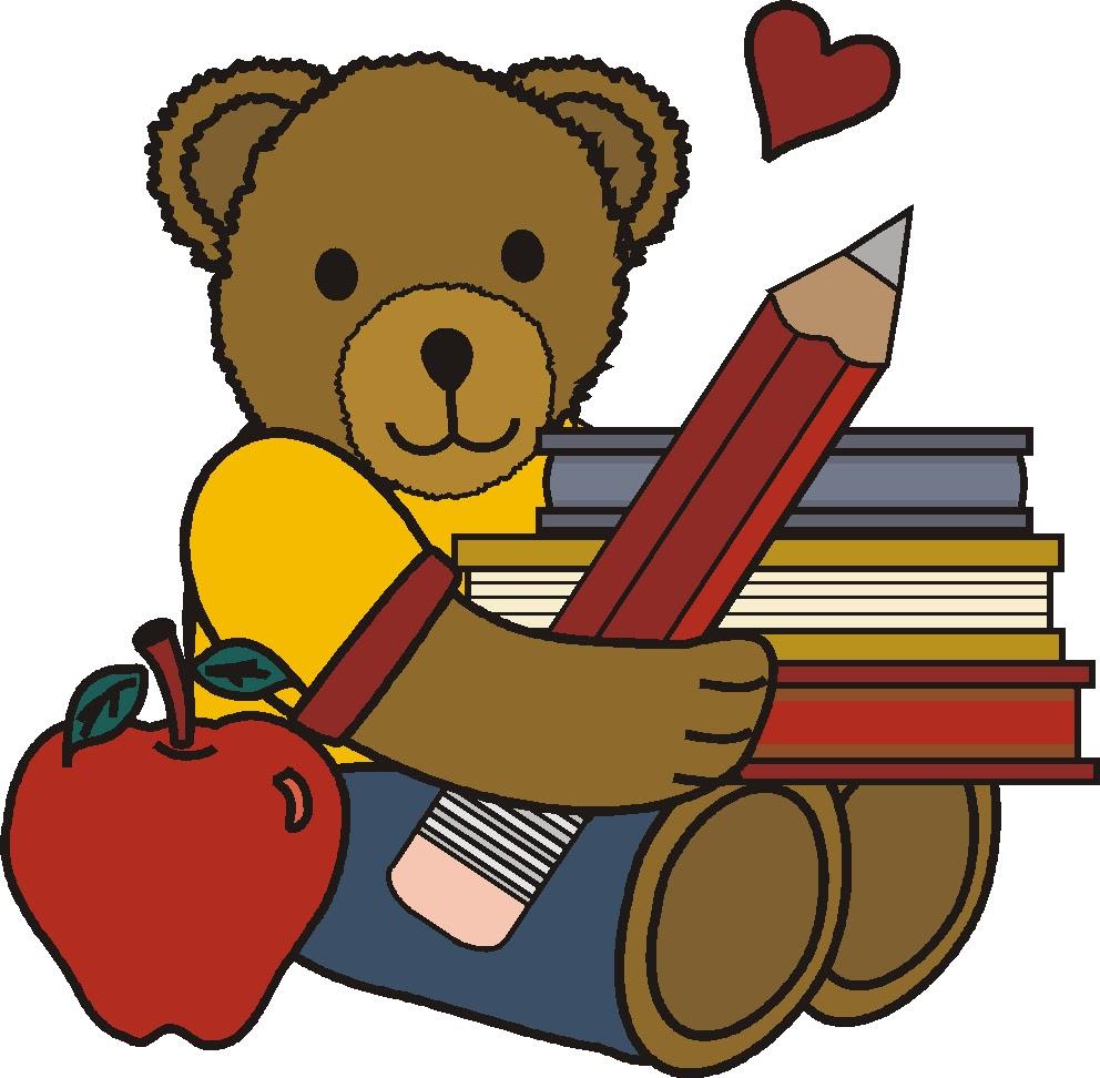 Pre kindergarten with bears. Bear clipart preschool