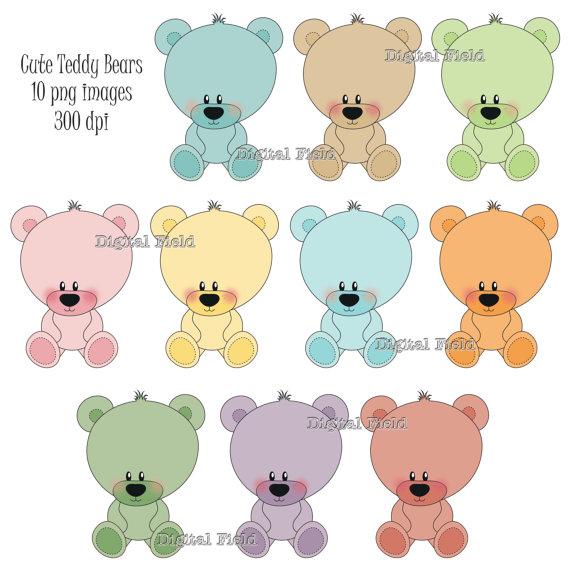 Bears clipart printable. Cute teddy bear clip