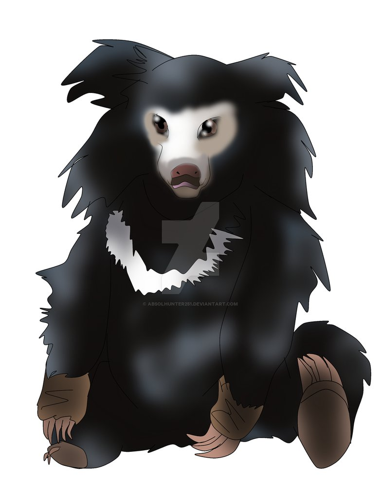 Bear clipart sloth bear. Pillow the by absolhunter