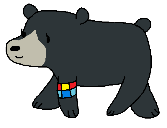 Slo mo the we. Bear clipart sloth bear