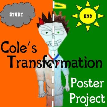 Cole s transformation poster. Bear clipart spirit bear