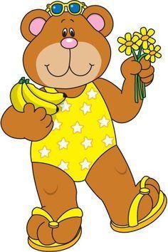 Bear clipart summer. Carson dellosa google search