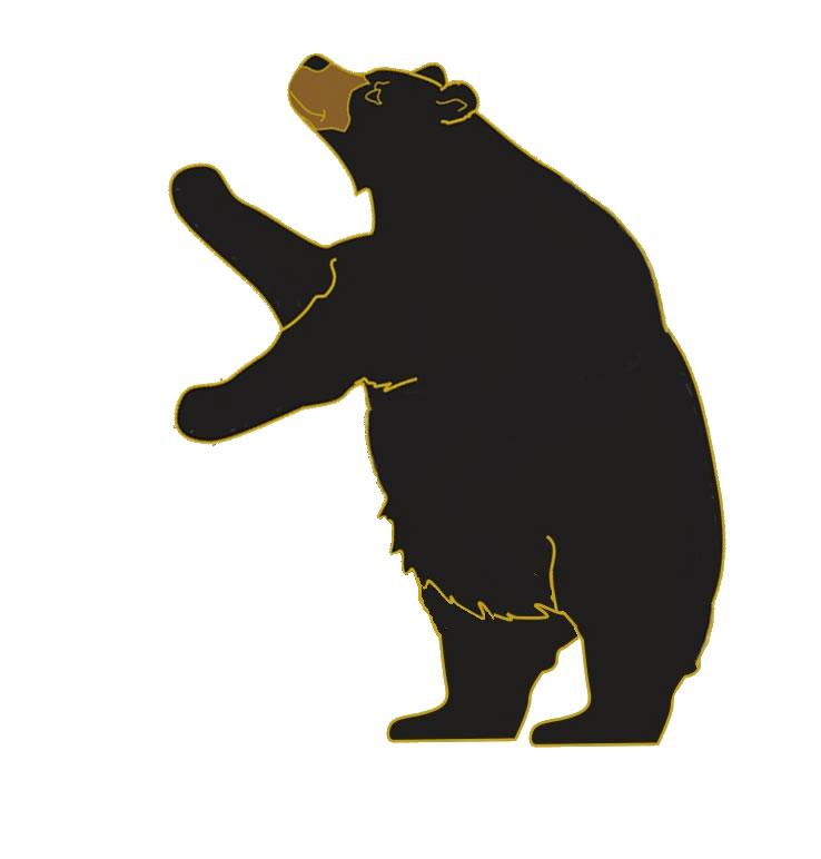 Bear clipart symbol. Free download clip art