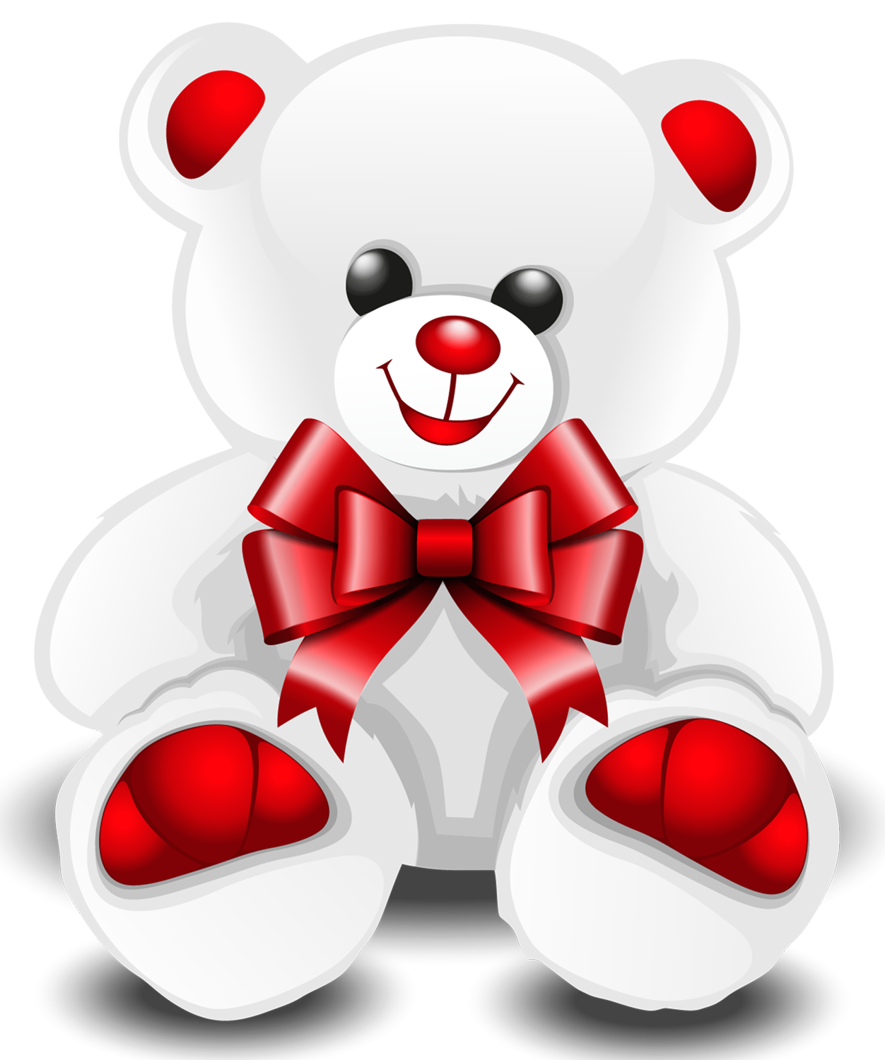 Bear clipart symbol. White teddy png picture