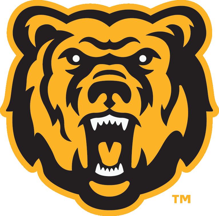 Canton minor hockey logo. Bear clipart symbol