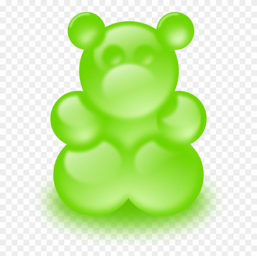 Gummy clip art bears. Bear clipart symbol