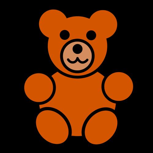 Silhouette clip art at. Bear clipart teddy bear