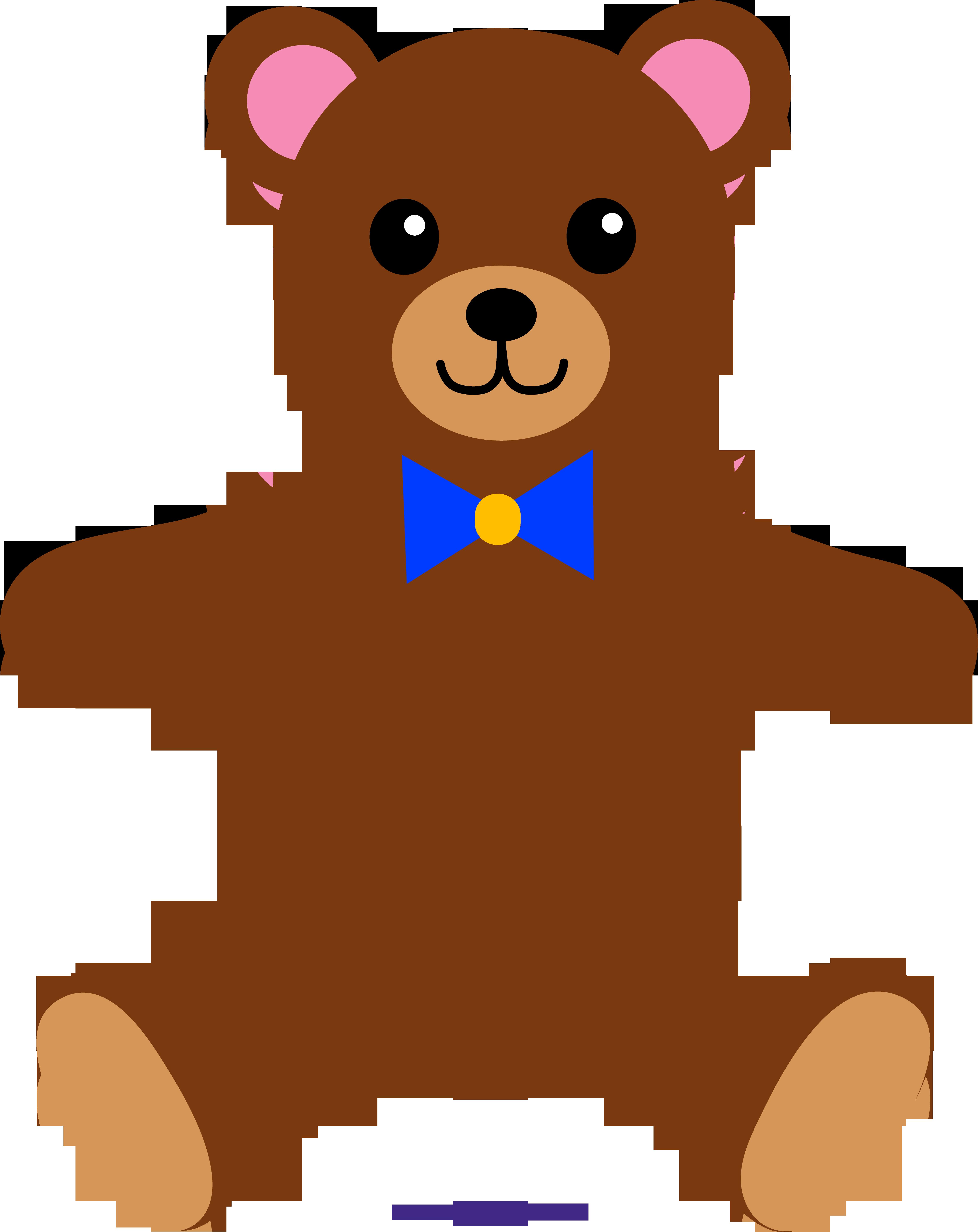 Brown sweet clip art. Bear clipart teddy bear