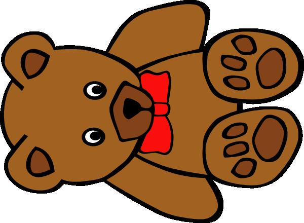 Bear clipart teddy bear. With bow clip art