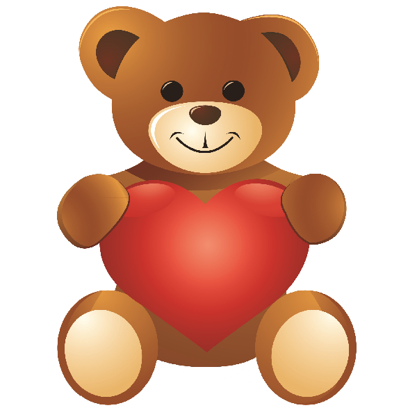 Image result for standing. Bear clipart teddy bear