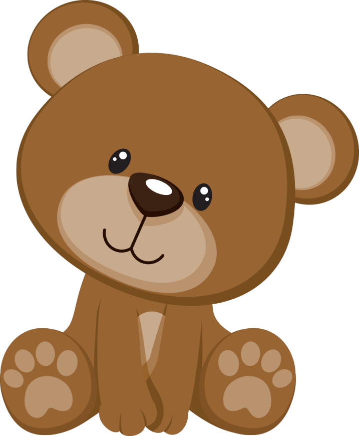 Woodland clipart baby girl.  teddy bear png