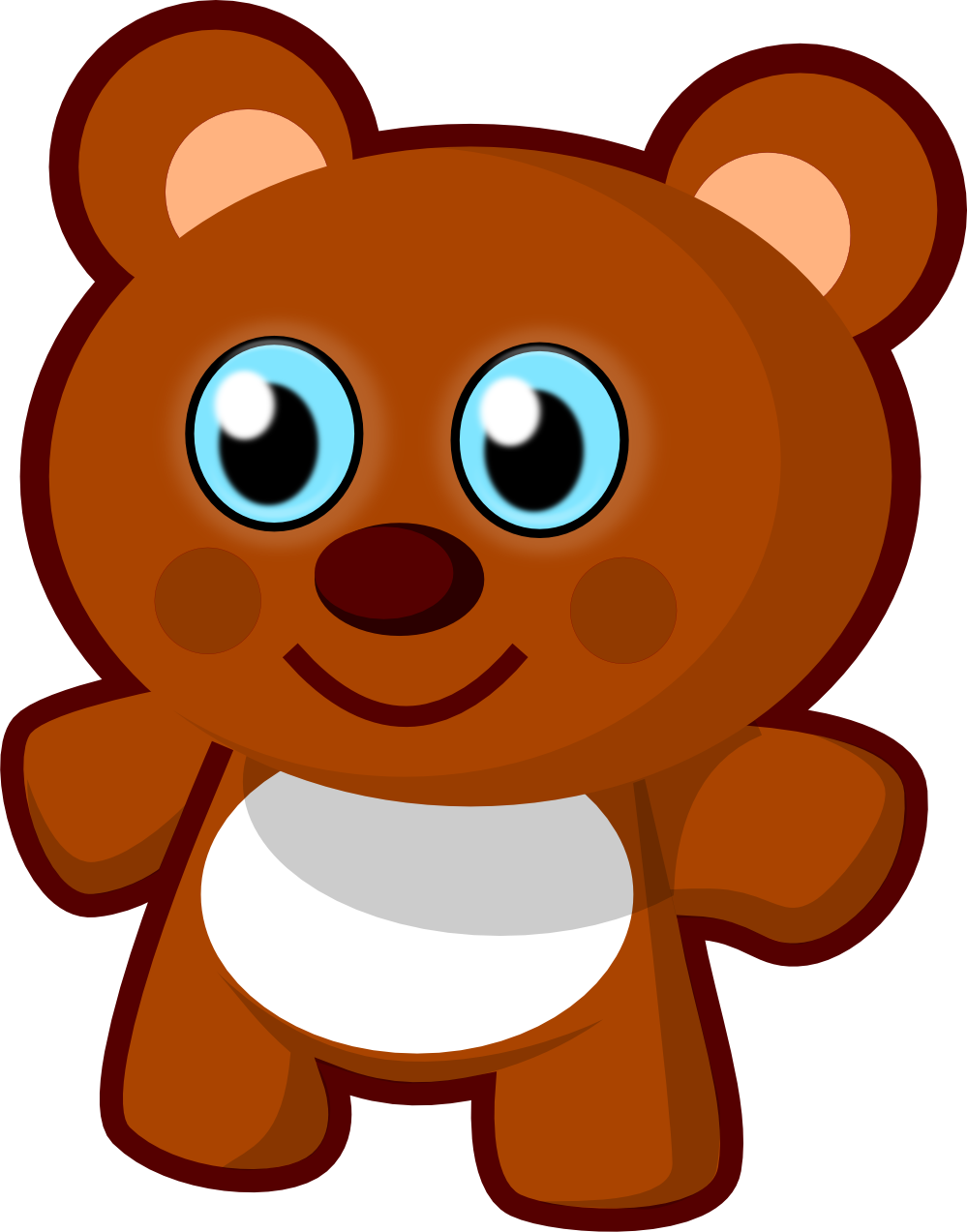 Bear clipart transparent background. Png free images image