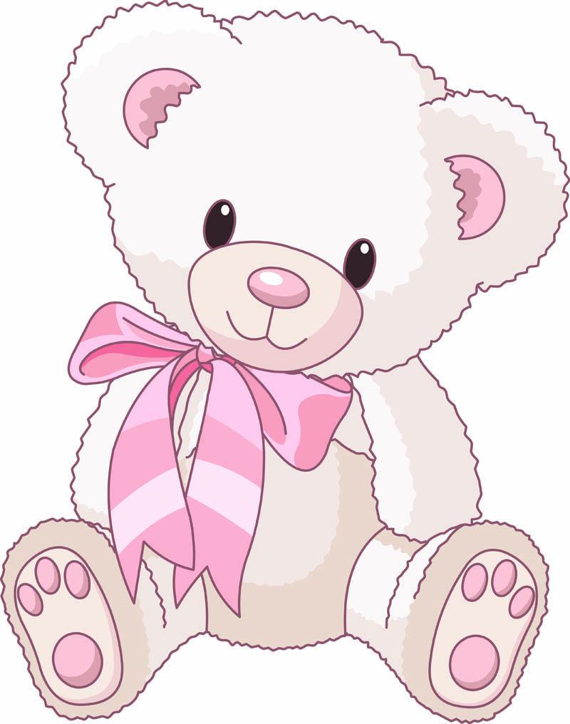 Free cute cartoon art. Bear clipart vector