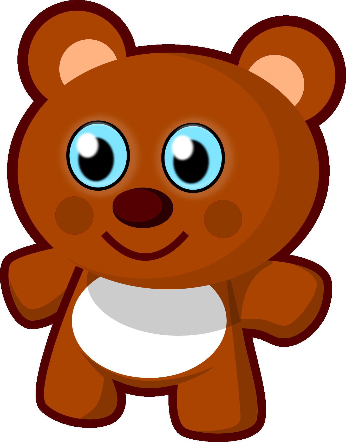 Teddy bear clip art. Ham clipart face