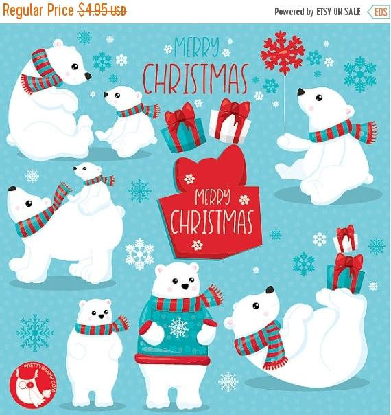 Bears clipart polar bear.  off sale commercial