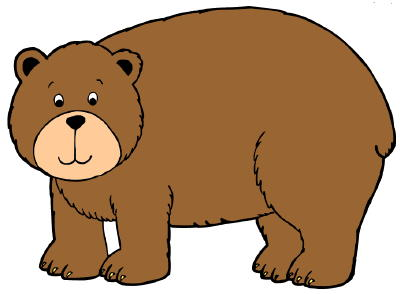Cute brown free images. Bear clipart vector