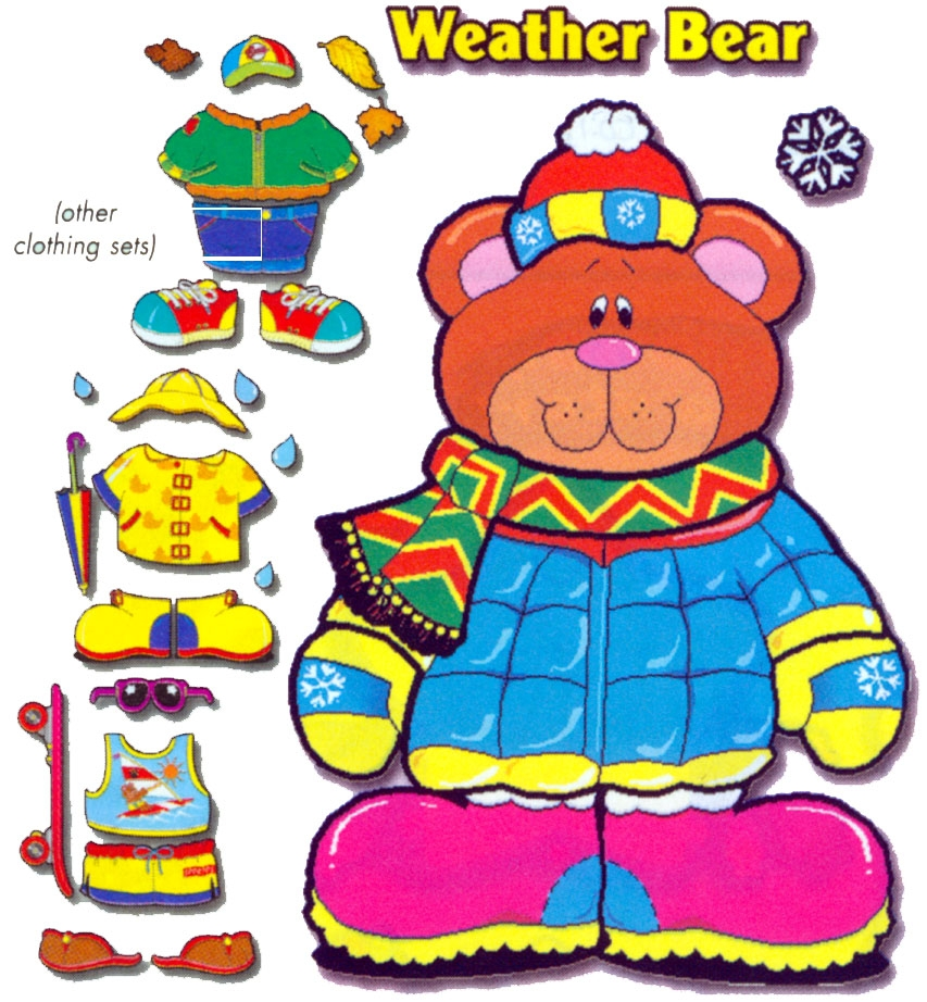 Clip art library . Bear clipart weather