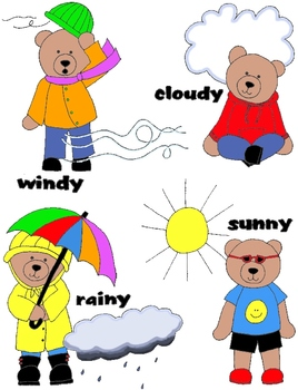 Bears clip art pngs. Bear clipart weather